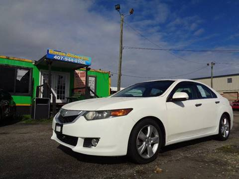 2010 Acura TSX for sale at Marvin Motors in Kissimmee FL