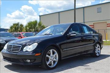 2007 Mercedes-Benz C-Class for sale at Marvin Motors in Kissimmee FL