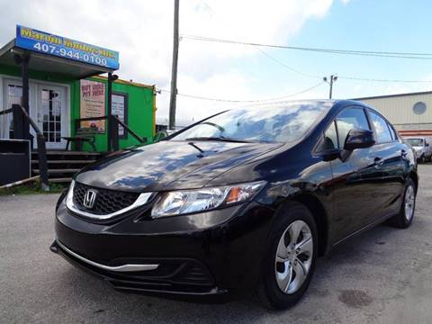 2013 Honda Civic for sale at Marvin Motors in Kissimmee FL