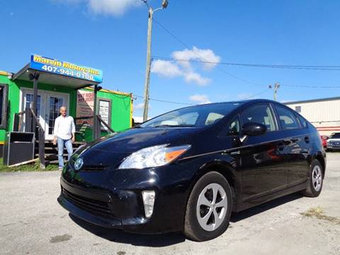 2013 Toyota Prius for sale at Marvin Motors in Kissimmee FL