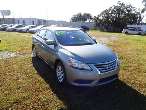 2013 Nissan Sentra for sale at Marvin Motors in Kissimmee FL