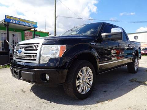 2009 Ford F-150 for sale at Marvin Motors in Kissimmee FL