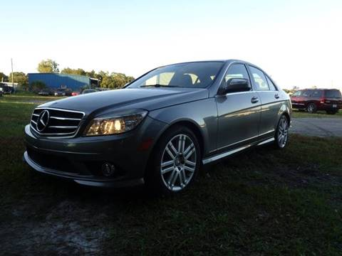 2008 Mercedes-Benz C-Class for sale at Marvin Motors in Kissimmee FL