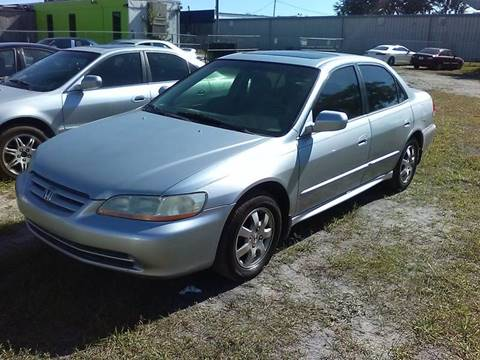 2001 Honda Accord for sale at Marvin Motors in Kissimmee FL