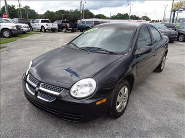 2004 Dodge Neon for sale at Marvin Motors in Kissimmee FL