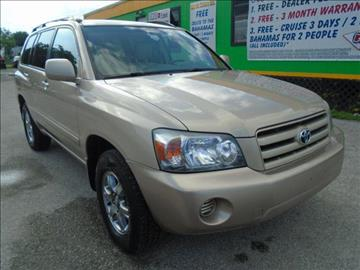 2005 Toyota Highlander for sale at Marvin Motors in Kissimmee FL
