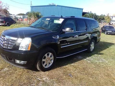2009 Cadillac Escalade ESV for sale at Marvin Motors in Kissimmee FL