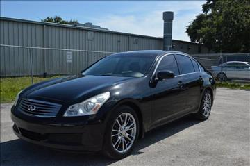 2007 Infiniti G35 for sale at Marvin Motors in Kissimmee FL