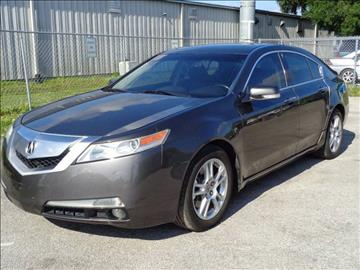 2009 Acura TL for sale at Marvin Motors in Kissimmee FL