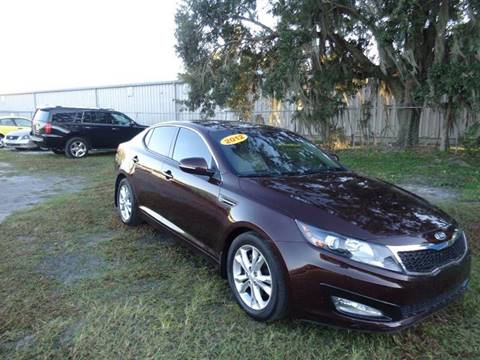 2013 Kia Optima for sale at Marvin Motors in Kissimmee FL
