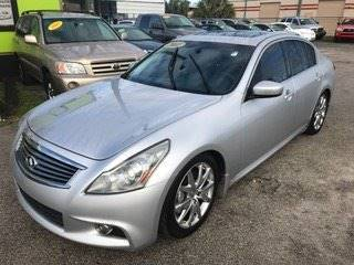 2011 Infiniti G37 Sedan for sale at Marvin Motors in Kissimmee FL