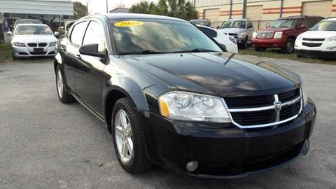 2008 Dodge Avenger for sale at Marvin Motors in Kissimmee FL