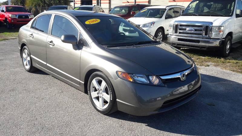 2008 Honda Civic EX L 4dr Sedan 5A   Kissimmee FL