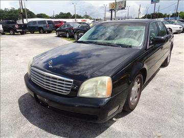 2004 Cadillac DeVille for sale at Marvin Motors in Kissimmee FL