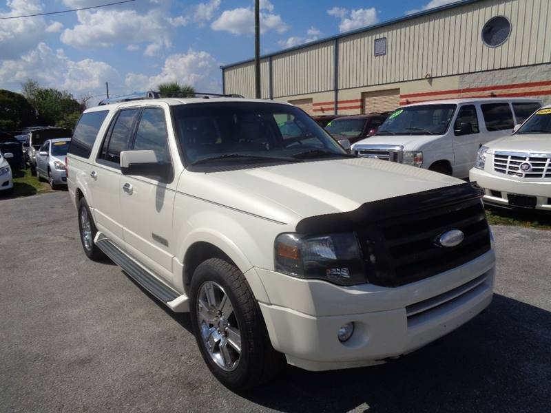 2007 Ford Expedition EL for sale at Marvin Motors in Kissimmee FL