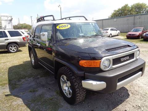2007 Toyota FJ Cruiser for sale at Marvin Motors in Kissimmee FL