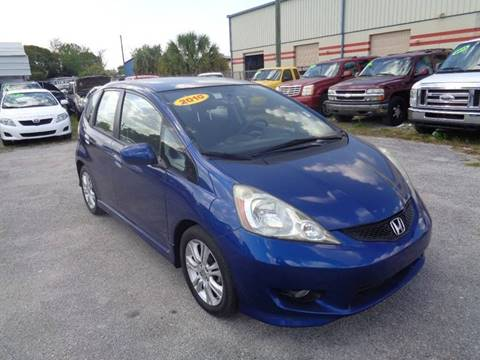 2010 Honda Fit for sale at Marvin Motors in Kissimmee FL