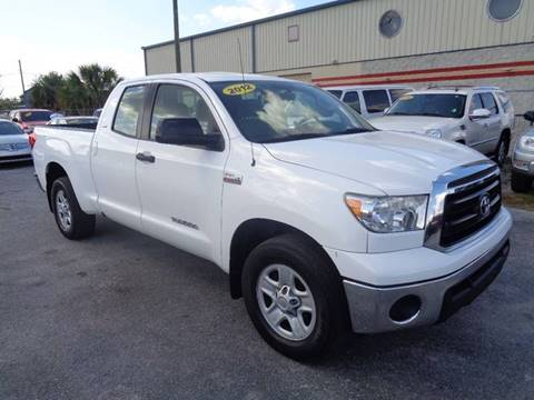 2012 Toyota Tundra for sale at Marvin Motors in Kissimmee FL