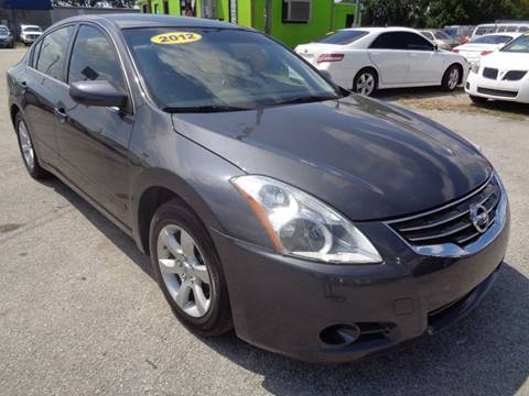 2012 Nissan Altima for sale at Marvin Motors in Kissimmee FL