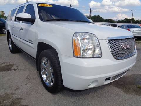 2007 GMC Yukon XL for sale at Marvin Motors in Kissimmee FL