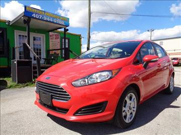 2014 Ford Fiesta for sale at Marvin Motors in Kissimmee FL