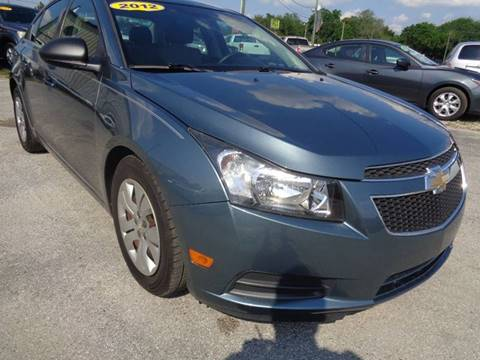 2012 Chevrolet Cruze for sale at Marvin Motors in Kissimmee FL