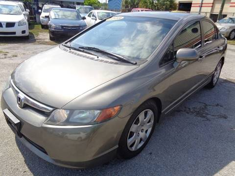 2008 Honda Civic for sale at Marvin Motors in Kissimmee FL