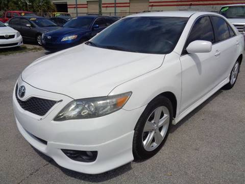 2011 Toyota Camry for sale at Marvin Motors in Kissimmee FL