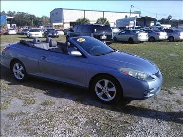 2007 Toyota Camry Solara for sale at Marvin Motors in Kissimmee FL