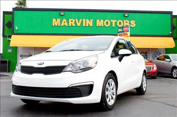 2016 Kia Rio for sale at Marvin Motors in Kissimmee FL