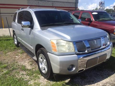 2004 Nissan Armada for sale at Marvin Motors in Kissimmee FL
