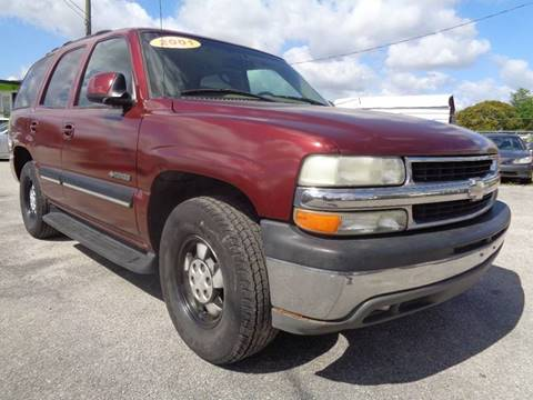 2001 Chevrolet Tahoe for sale at Marvin Motors in Kissimmee FL
