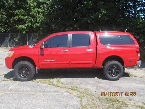 2007 Nissan Titan for sale in Derby CT