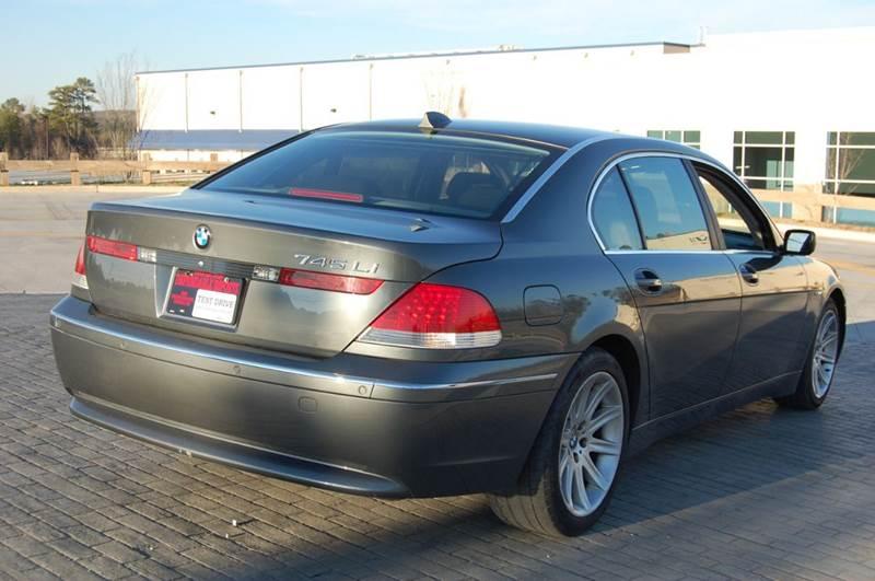 2004 BMW 7 Series 745Li 4dr Sedan - Conley GA