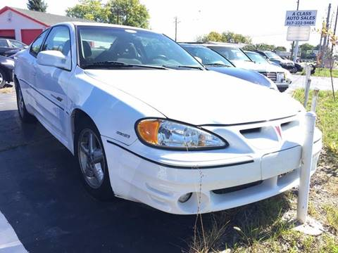 2000 Pontiac Grand Am for sale in Indianapolis, IN