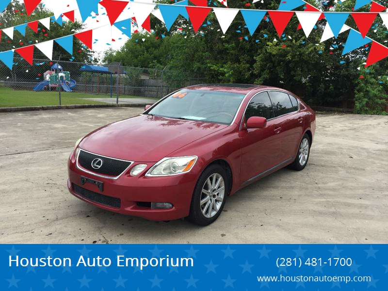2006 Lexus GS 300 For Sale At Houston Auto Emporium In Houston TX