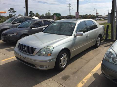 2002 Lexus LS 430 for sale at 1st Stop Auto in Houston TX