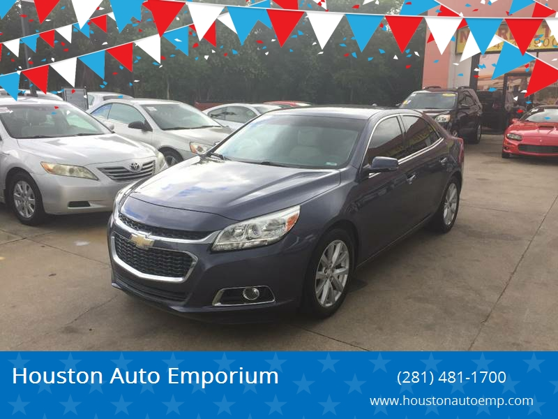 2014 Chevrolet Malibu For Sale At Houston Auto Emporium In Houston TX