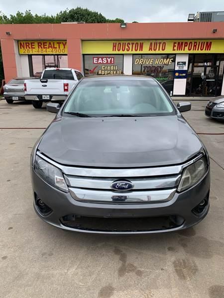 2012 Ford Fusion for sale at Houston Auto Emporium in Houston TX
