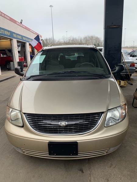 2001 Chrysler Town and Country for sale at Houston Auto Emporium in Houston TX