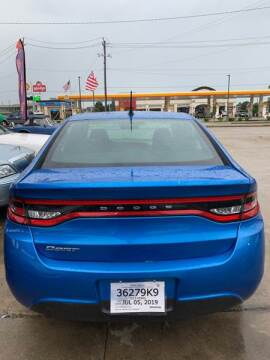 2015 Dodge Dart for sale at Houston Auto Emporium in Houston TX