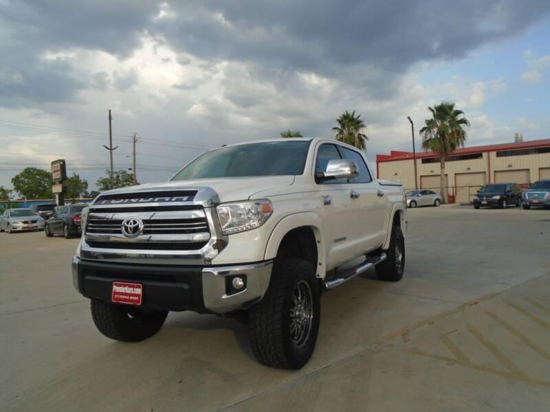 2016 Toyota Tundra for sale at Houston Auto Emporium in Houston TX