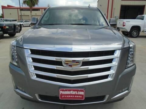 2018 Cadillac Escalade ESV for sale at Houston Auto Emporium in Houston TX