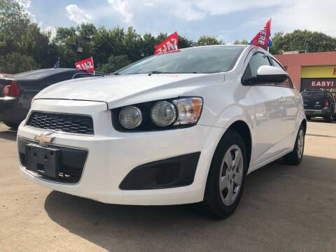 2016 Chevrolet Sonic for sale at Houston Auto Emporium in Houston TX