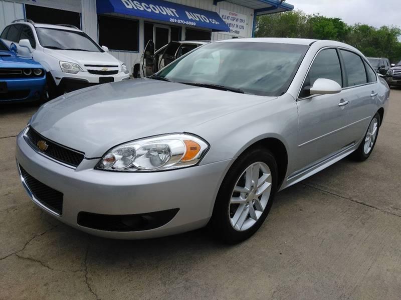 chevrolet inventory fwd sedan impala owned ltz pre used