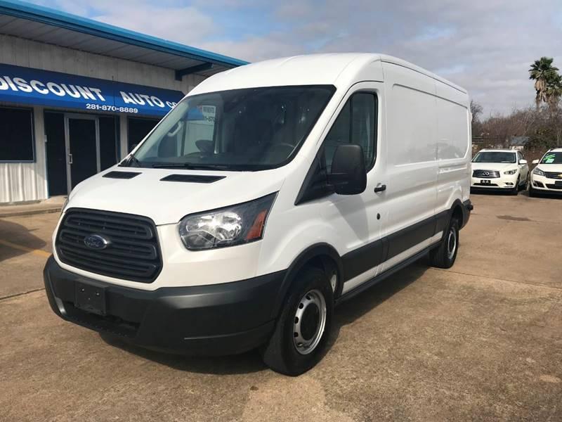 76a501212a 2017 Ford Transit Cargo 250 3dr LWB Medium Roof Cargo Van w Sliding  Passenger Side Door