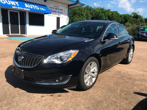 2017 Buick Regal for sale in Houston, TX