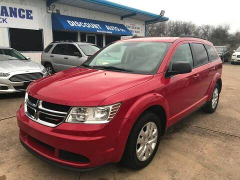 2016 Dodge Journey for sale at Discount Auto Company in Houston TX