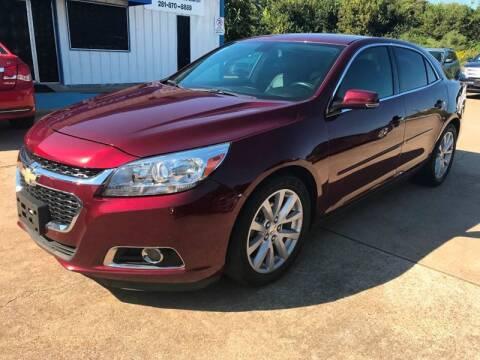 2015 Chevrolet Malibu for sale at Discount Auto Company in Houston TX