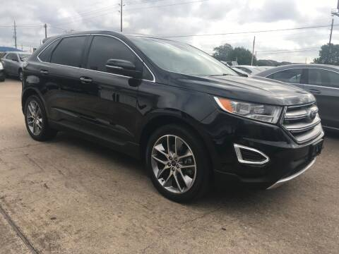 2015 Ford Edge for sale at Discount Auto Company in Houston TX